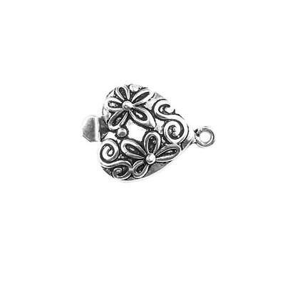 Silver Overlay Single Strand Clasp CSF-419