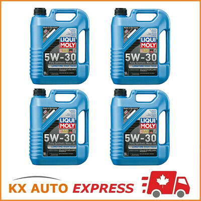 20L Liqui Moly Longtime High Tech SAE 5W-30 Fully Synthetic Engine Oil 2039
