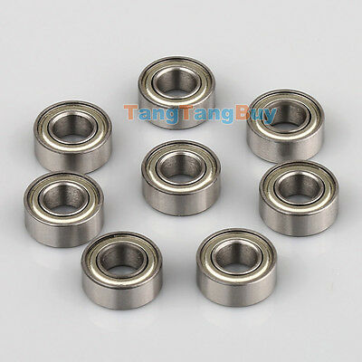 02139 8pcs RC Ball Bearing HSP 10mm*5mm*4mm For 1/10 Model Car Parts Accessories