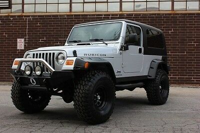 Jeep : Wrangler Unlimited Rubicon LWB 2006 jeep wrangler rubicon unlimited only 3 997 miles loaded with extras