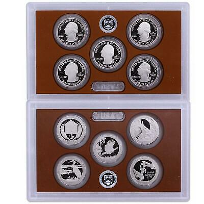 2015 S Parks Quarter ATB Proof Set Gem DCam No Box or COA 5 Coin CN-Clad US Mint
