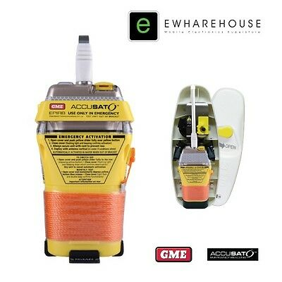 GME MT403FF 406MHz EPIRB WITH FLOAT FREE AUTO RELEASE