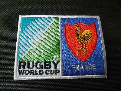 New Rugby World Cup  Badge - Sew on Patch - France 10cm x 7.5cm