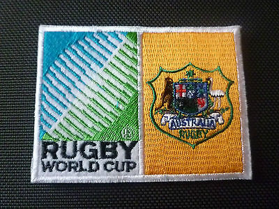 2019 New Rugby World Cup  Badge - Sew on Patch - Australia 10cm x 7.5cm