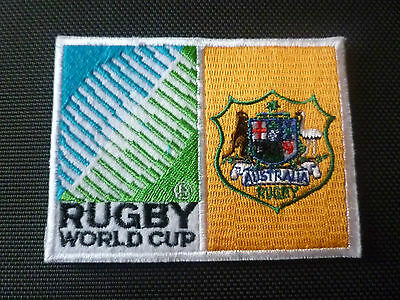 New Rugby World Cup  Badge - Sew on Patch - Australia 10cm x 7.5cm