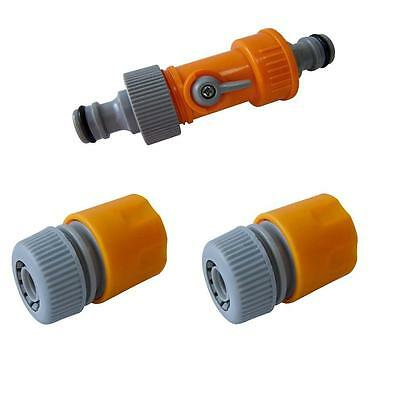 Hozelock Compatible Hose Tap Water Flow Connector Threaded Quick Release Ca5