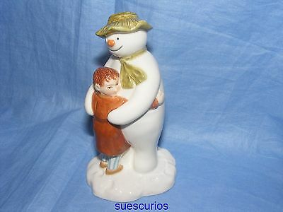 John Beswick The Snowman & James Hugging - JBS3 Raymond Briggs
