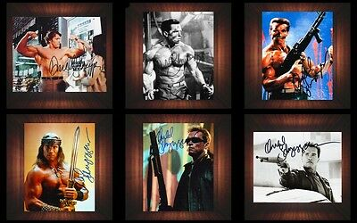 Arnold Schwarzenegger Various - PP Signed Autographed Framed Photo/Canvas Print