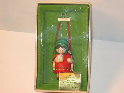 Hallmark Keepsake Ornament 1976 Christmas is For Children Tree Trimmer