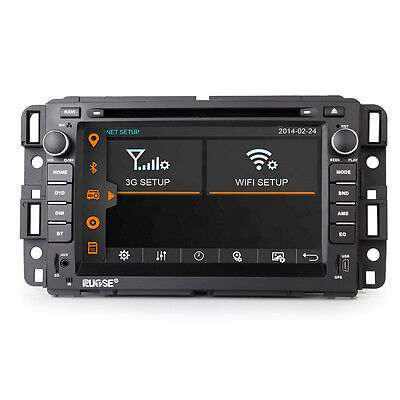 US Autoradio GPS Navigation Stereo DVD for Chevrolet Tahoe GMC Saturn Outlook