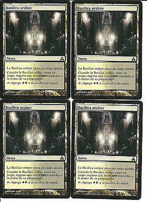 mtg Magic 4x Orzhov Basilica ( Basilica orzhov ) GOOD spanish