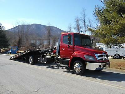2007 Hino 258 21 39 Rollback Tow Truck