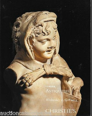 Christie's Ancient Antiquities London Auction Catalog April 2014