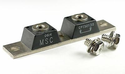 Schottky Rectifier - CPT50130 - Dual Diode Module Block 500 Amp, 30v  500A  USED
