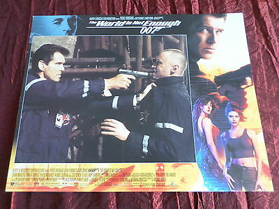 The World Is Not Enough- Pierce Brosnan - Robert Carlyle - Usa Lobby Card-11X14