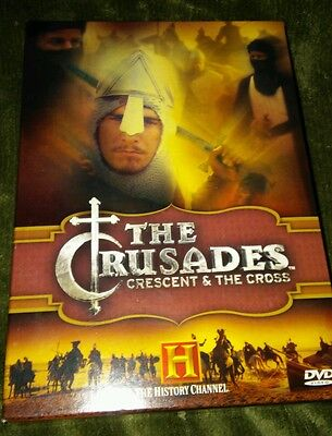The Crusades: Crescent & The Cross - DVD -  2 Disc Box Set The History Channel