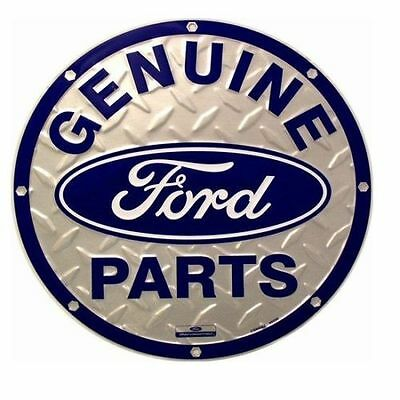 Genuine Ford Parts Round Sign ~ Free Shipping