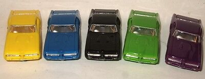 MODEL MOTORING 5 CAR 1969 GTO HARDTOP BODY BLOWOUT Thunderjet T-jet HO Slot