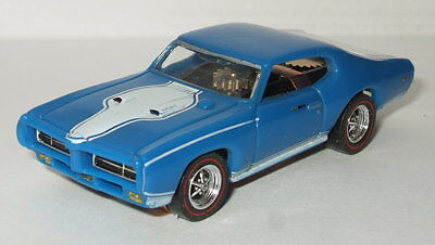 RARE MODEL MOTORING BOBCAT PONTIAC GTO 1969 Thunderjet T-jet HO Slot Car w/ BOX