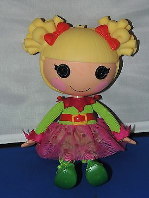 Lalaloopsy Lot Holly Sleighbells  Full Size Doll! With outfit-Cute!