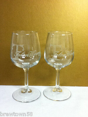 OC8 TALON WINES WINERY 2 WINE GLASS GLASSES GLASSWARE BARWARE BAR PUB
