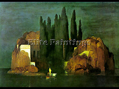 Island Of The Dead Artist Painting Reproduction Handmade Oil Canvas Repro Art
