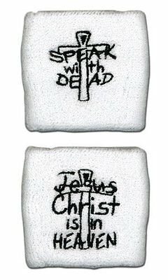 *NEW* Hellsing Speak With Dead / Jesus Christ is in Heaven Sweatband