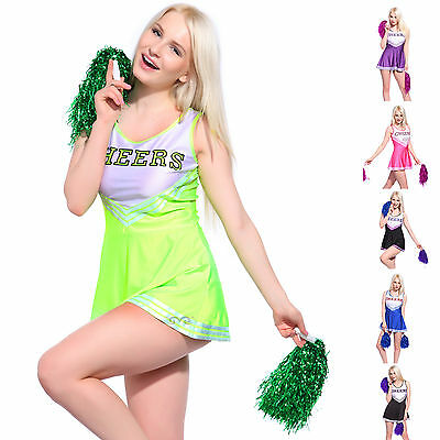 Debardeur Robe jupe deguisement costume cheer leader Pom pom girl CARNAVAL