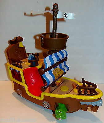 Fisher Price Jake And The Neverland Pirates Jake's Musical Pirate Bucky Ship