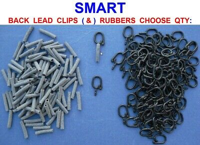 BACK LEAD BACKLEAD CLIPS FOR USE WITH MOULDS COURSE//CARP FISHING
