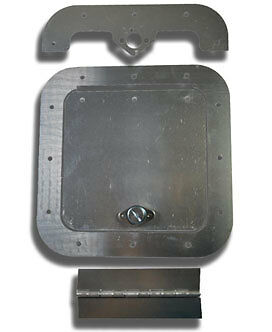 "6"" X 6"" Access Panel Kit.. Ideal for Fuel Cell access.. Dirt Late Model"