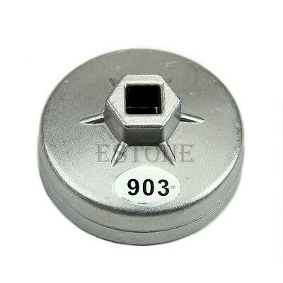 74mm 14 Flute Aluminum Oil Filter Wrench Socket Remover Tool for BMW AUDI Benz