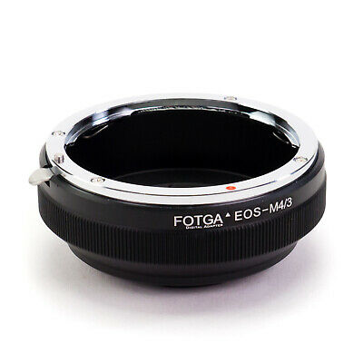Adapter Ring Canon EOS EF Lens to Micro 4/3 Mount Camera M43 M4/3 Four Thirds