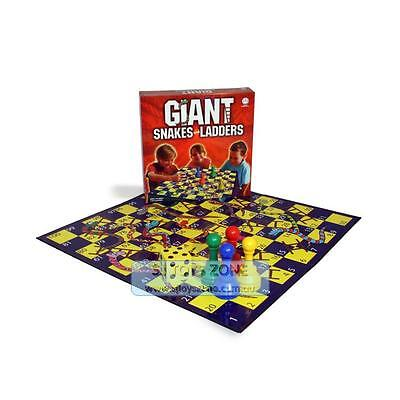 Giant Snakes & Ladders Board Game Family Fun Game Toy