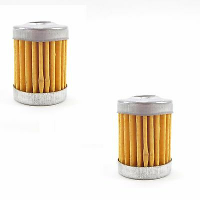 2 Pack Fuel Filter Element Petrol Washable Motorcycle Reusable Cruiser Suzuki