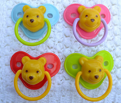 PJs ☆  You Choose Colour ☆  BABY DISNEY ☆ DUMMY PACIFIER + MAGNET 4 REBORN DOLL