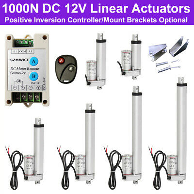 Multi-function 220lbs Load Linear Actuator 14mm/s DC 12V Motor for Car Boat Door