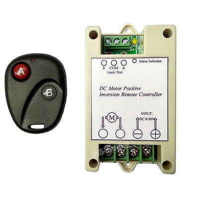 10A 12/24V Wireless Remote Controller for Electric DC Motor Linear Actuator Auto