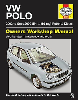 Volkswagen VW Polo Petrol Diesel 2002 - 2009 Haynes Manual 4608 NEW