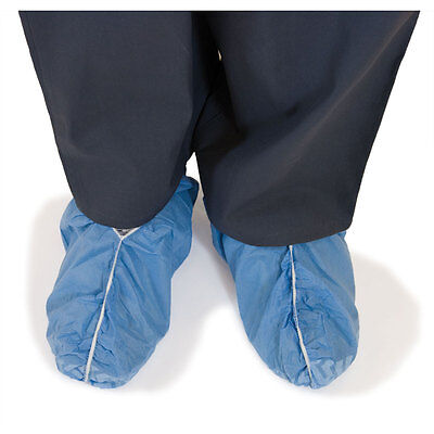 Disposable Shoe Covers Non-skid Blue Standard size 1000 pk