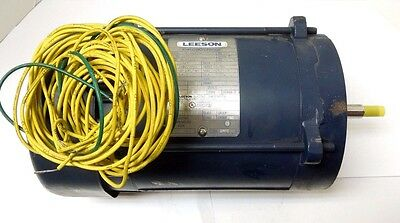 Leeson Electric Motor 3 Phase 1 Hp 208-230 56Cz Frame Explosion Proof  <109 Mfl