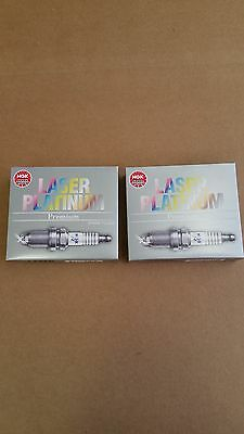 Set of 8 NGK 3199 Laser Platinum Spark Plugs BKR6EQUP
