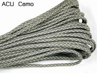 550 Paracord Parachute Cord Lanyard Mil Spec Type III 7 Strand Core 50 FT #18