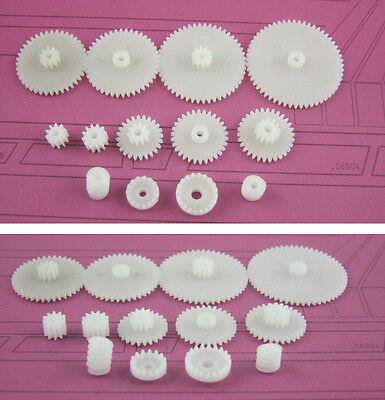 13Kinds Plastic Shaft Gears Spindle Single Crown Double Worm New For Robot beus