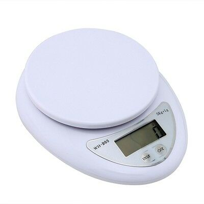 5kg 5000g/1g High precision Digital Kitchen Food Scale Electronic Weight Balance