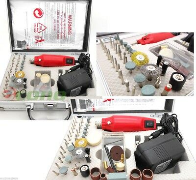 56pc DC MINIE DIE GRINDER Grind AC powered Drill Tool Acessories Diamond Set