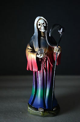 "La Santa Muerte 5"" Grim Reaper Death Multi Color -Skull, Skeleton Halloween"