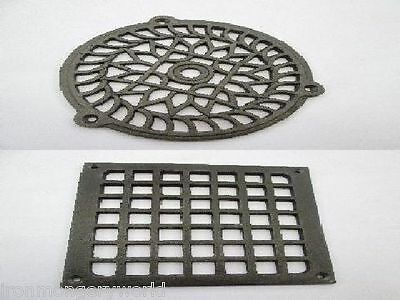 "5""  Cast Iron Gutter Gulley Grid Drainage Guard Cover Protector Lid Cap"