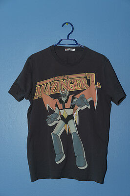 Pre-Owned Uniqlo Shirt Mazinger Z Vintage Rare Anime Tee T-Shirt Anime Size L