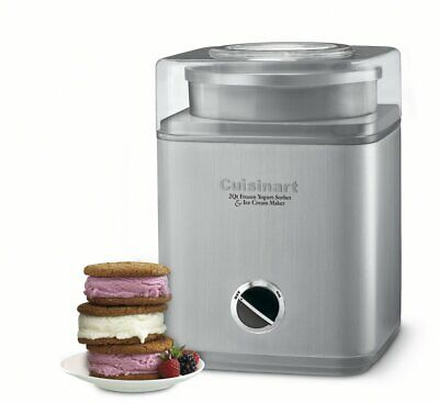 Cuisinart Pure Indulgence 2 quart Automatic Home Ice Cream Yogurt Sorbet Maker